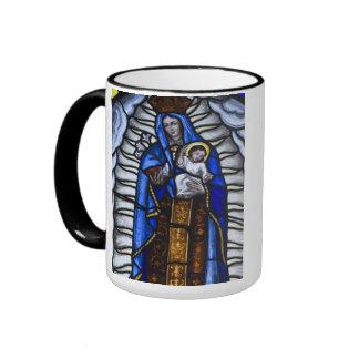 JESUCRISTO Y MADRE MARIA TAZAS DE CAFÉ