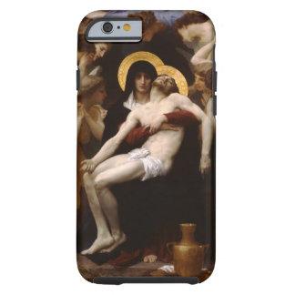 Jesucristo y Virgen María del pieta Funda De iPhone 6 Tough