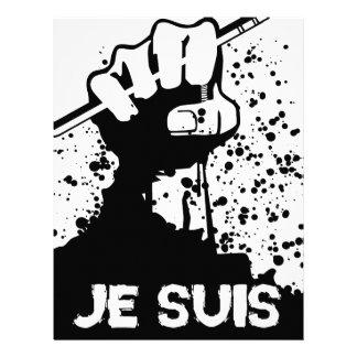 Jesuis Charlie (Zombie Edition) Custom Letterhead