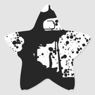 Jesuis Charlie (Zombie Edition) Star Sticker