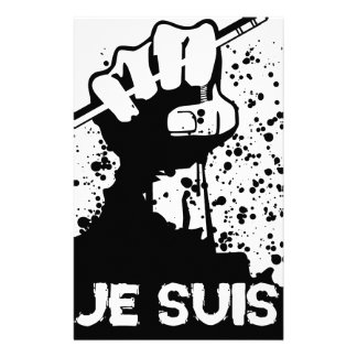 Jesuis Charlie (Zombie Edition) Stationery