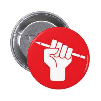 #JeSuisCharlie PARÍS de Je Suis Charlie Pin Redondo De 2 Pulgadas
