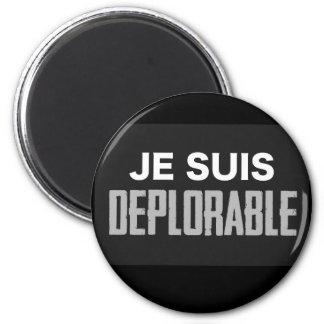 JeSuisDeplorable 2 Inch Round Magnet