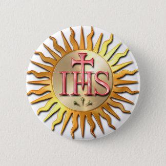 Jesuit Seal Button