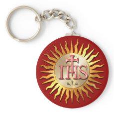 Jesuit Seal Keychain