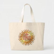 Jesuit Seal Large Tote Bag