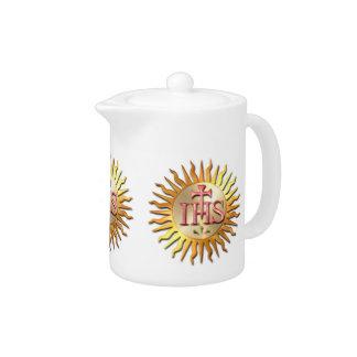 Jesuit Seal Teapot