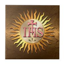 Jesuit Seal Tile