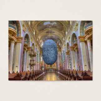 Jesuitenkirche Wien Österreich Business Card