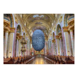 Jesuitenkirche Wien Österreich Large Business Card