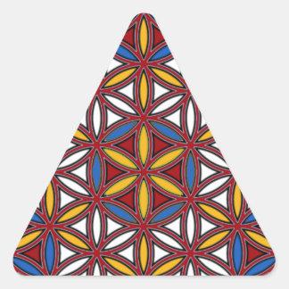Jesus03 Pegatinas Trianguladas