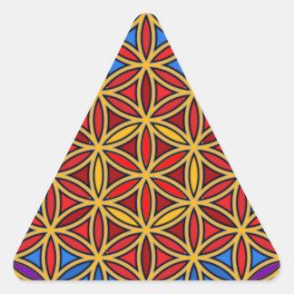 Jesus09 Pegatina De Triangulo