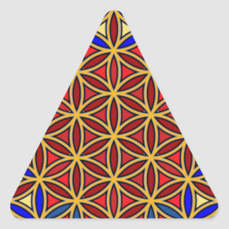 Jesus10 Calcomanía Triangulo Personalizadas