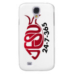 Jesus24-7-365 Galaxy S4 Case
