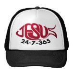Jesus24-7-365 Trucker Hat