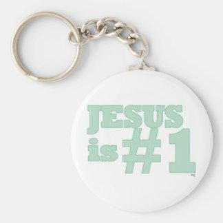 Jesus #1 keychain