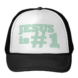Jesus #1 mesh hat