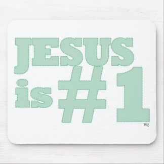 Jesus #1 mousepad