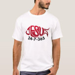 Jesús 24-7-365 playera