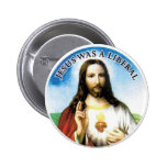 Jesus 2 Inch Round Button