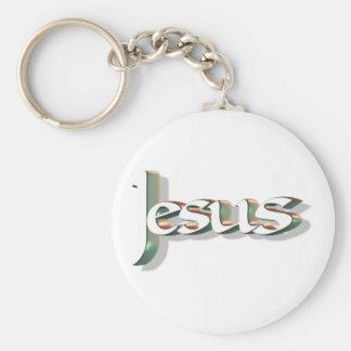 Jesus 3D Vert 3D Keychains