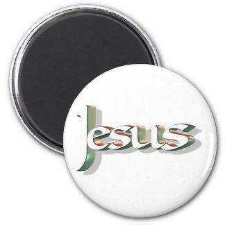 Jesus 3D Vert 3D Magnet