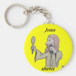 , Jesús, afeitados Llavero