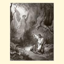 Jesus Agony In The Garden Religious Postcard