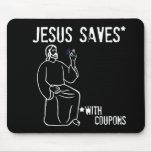 Jesús ahorra alfombrilla de ratones