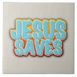 Jesús ahorra azulejos ceramicos