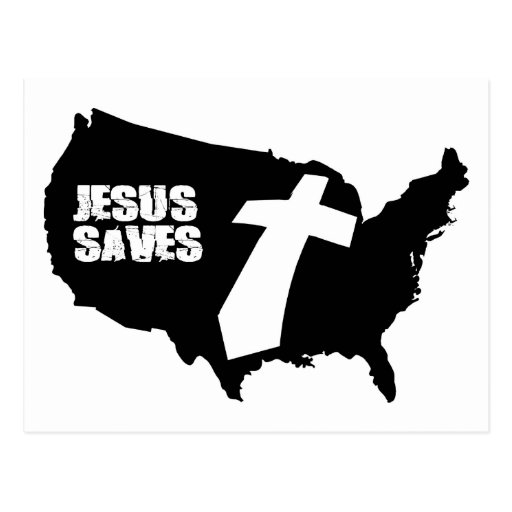 Jesús ahorra el diseño de América Postales