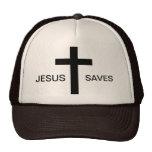 Jesús ahorra el gorra