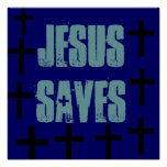 Jesús ahorra el poster