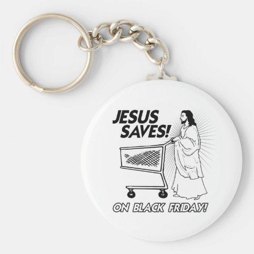 JESÚS AHORRA EL VIERNES NEGRO - .PNG LLAVERO REDONDO TIPO PIN