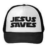 Jesús ahorra gorras de camionero