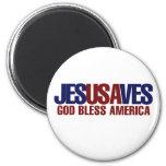 Jesús ahorra imán de frigorifico