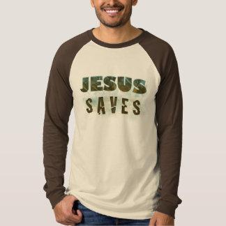 Jesús ahorra la camiseta camisas