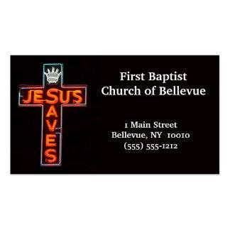 Jesús ahorra la tarjeta de visita