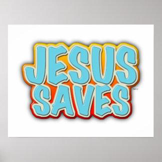 Jesús ahorra poster