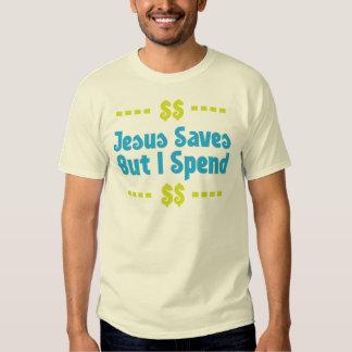Jesús ahorra pero paso remeras
