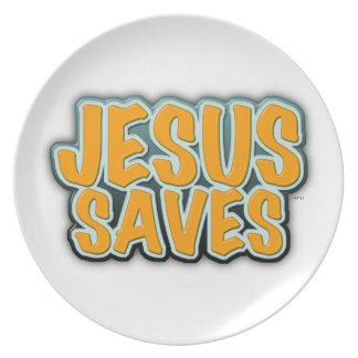 Jesús ahorra plato