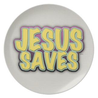 Jesús ahorra platos