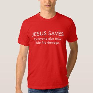 Jesús ahorra… playera