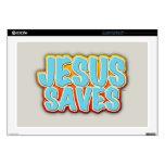 Jesús ahorra portátil 43,2cm skin
