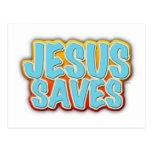 Jesús ahorra postal