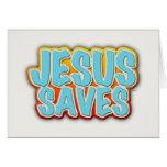 Jesús ahorra tarjetas