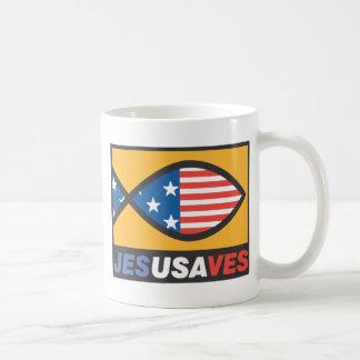 Jesús ahorra tazas