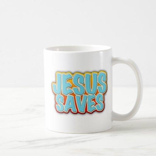 Jesús ahorra tazas de café