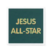 Jesus All-Star Napkin