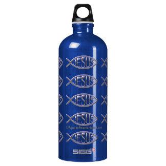 Jesus Aluminum Water Bottle